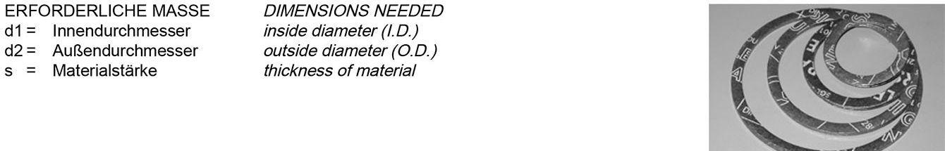 Tabelle DT Dichtungs-Technik GmbH, Dichtungstechnik, DT, Bremen, Schläuche, Armaturen, Dichtungen, Dichtringe, Profile, Dichtungen, ohne, Schraubenlöcher, Flachdichtungen, IBC, Flanschdichtfläche, Dichtleiste, Bördeldichtungen, Edelstahl, Innenbördel, Flachdichtungen, Form, IBC,  Form A,  Form B, Bördeldichtungen, EN 1514-1, DIN 28040, ASME B 16.21 Dichtungsplatten, Halbzeuge, Frenzelit, Klinger Sil, Sigraflex, Victor Reinz, Kautschuk, Dichtungen, Glattblech, Aramidfasern, Grafit, Spießblech, Graphit